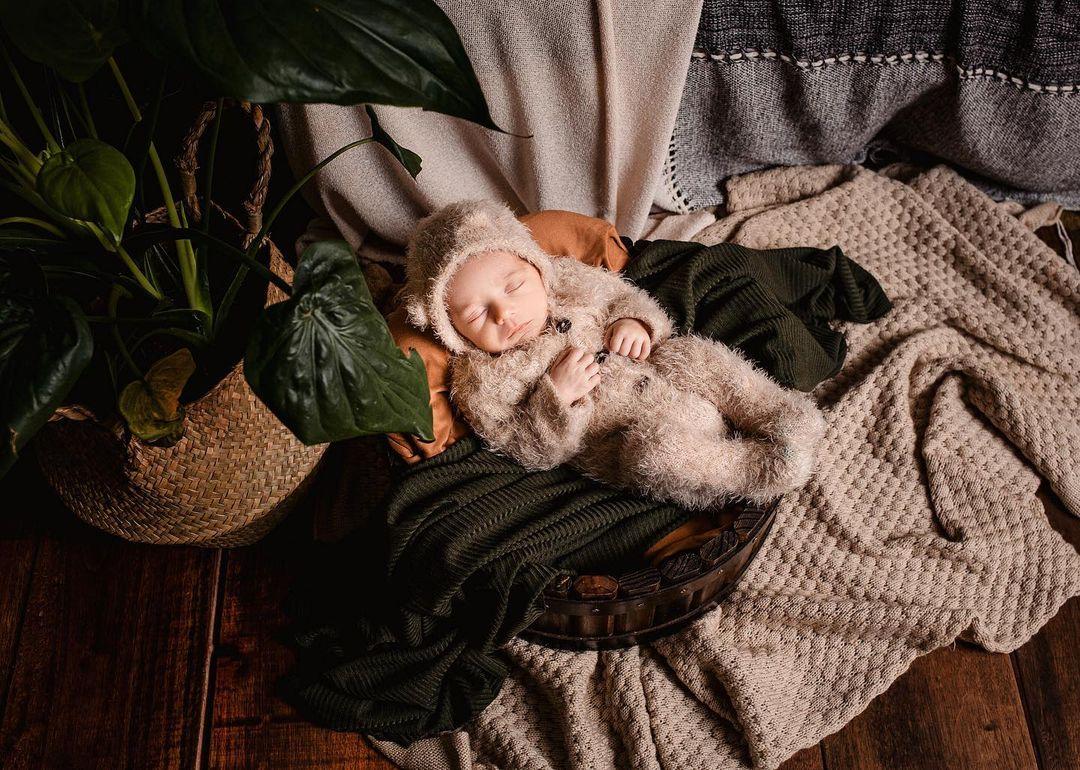 Body Jolie Angorá Newborn Bege