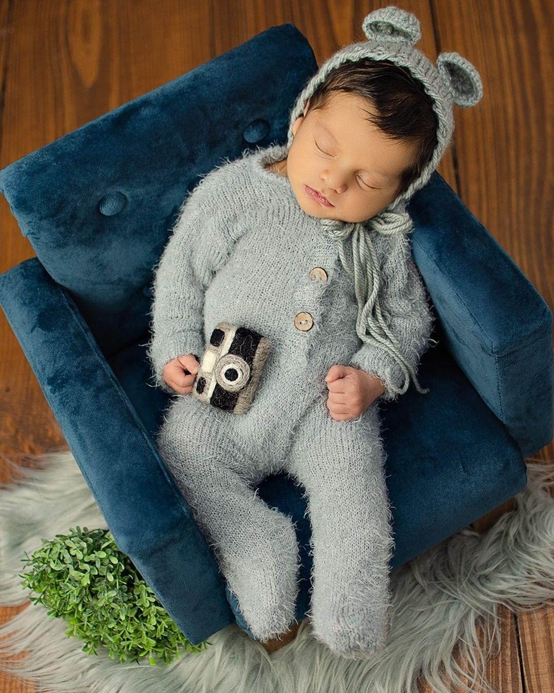 Body Jolie Angorá Newborn Cinza