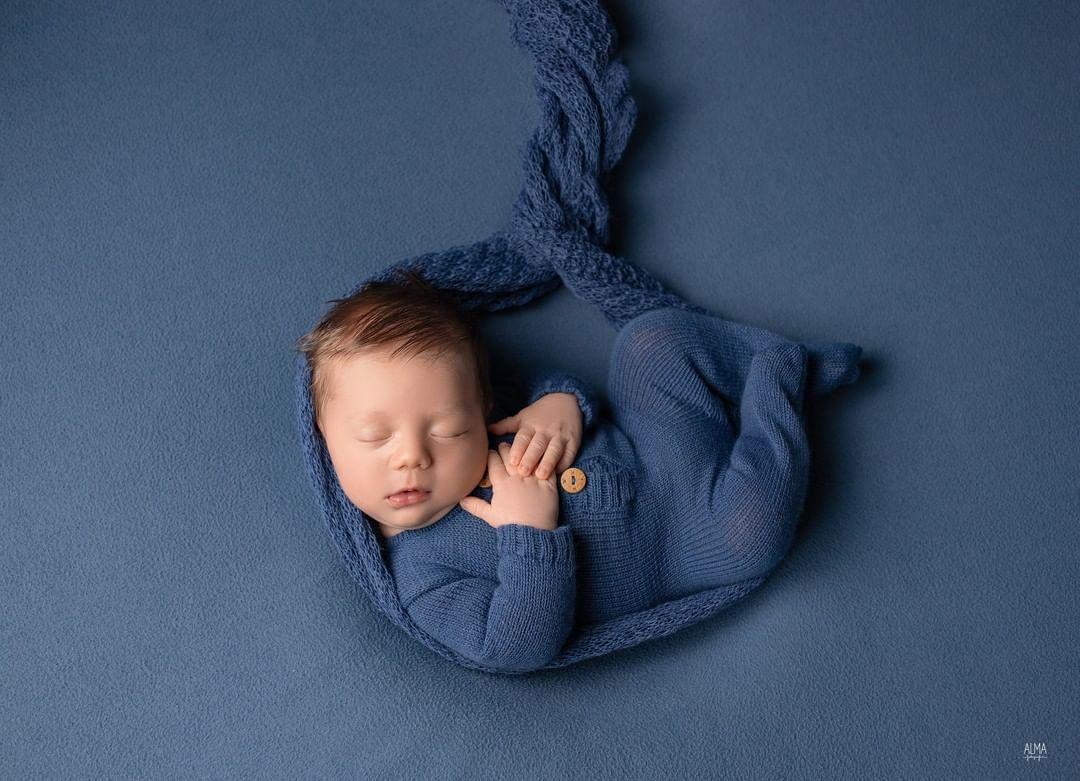 Body Jolie Newborn Azul Tirreno