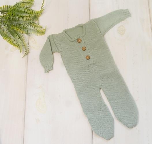 Body Jolie Newborn Verde Platina