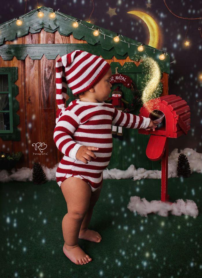 Body Longo E Touca Natal Acompanhamento