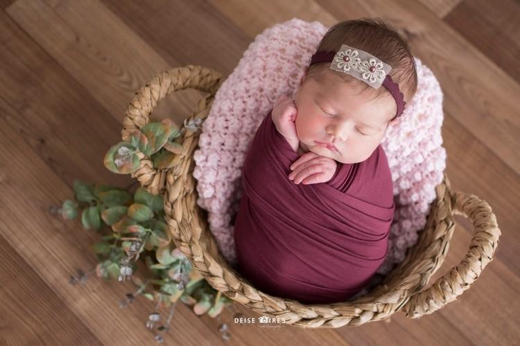Layer Em Tricô Pipoca Rosa bebê