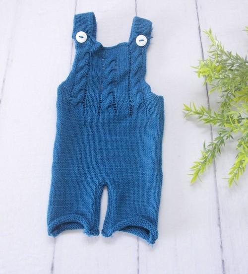 Macacão Joy Newborn Azul França