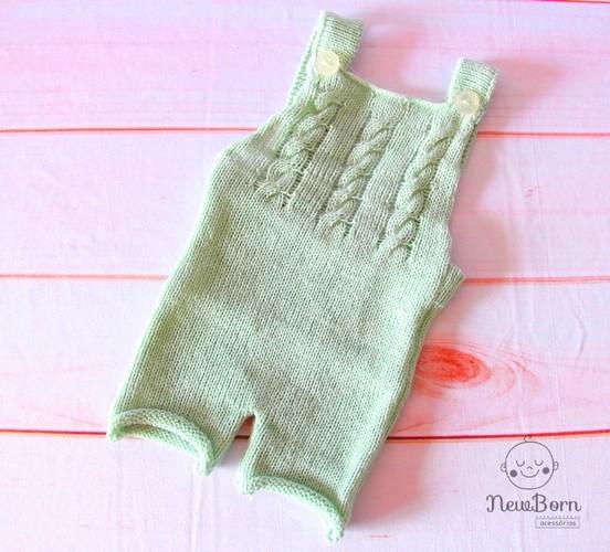 Macacão Joy Newborn Verde Platina