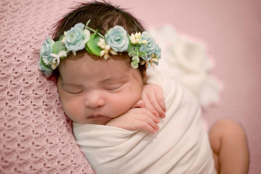 Manta Tricô Dupla-face para Puff Rosa bebê