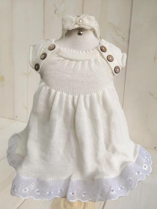 Vestido Malu Creme
