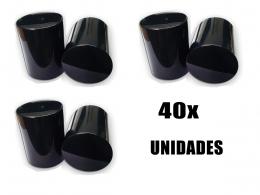 40 CAPA DE PORCA BOLIVIANA PARA CAMINHÃO BLACK 27MM