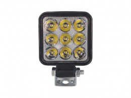 FAROL LED AUXILIAR 9 LEDS QUADRADO MINI 18W 12/24V