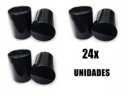 KIT 24 CAPA DE PORCA BOLIVIANA RODA CAMINHÃO 27MM