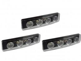 KIT 3 LANTERNA LED TAPA SOL SCANIA SC 124 S4 S5