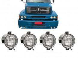 KIT 4 FAROL AUXILIAR VW 19.320 LONGO ALCANCE (ORGUS)