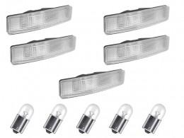 KIT 5 LANTERNA TAPA SOL SCANIA SC 124 S4 S5 COM LAMPADAS LED