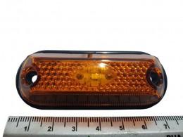 LANTERNA LED UNIVERSAL PLACA / DELIMIT. LED CRISTAL 12/24V