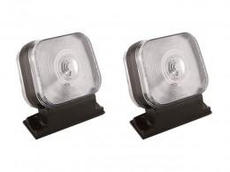 PAR Lanterna Seta Pisca Dianteira Ford Cargo CRISTAL
