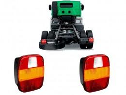 Par Lanterna Traseira Caminhao Volks Vw Ford Cargo Troller