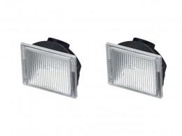 Par Lanterna Volvo Fh12 Nh12 Tapa Sol Delimitadora Cristal