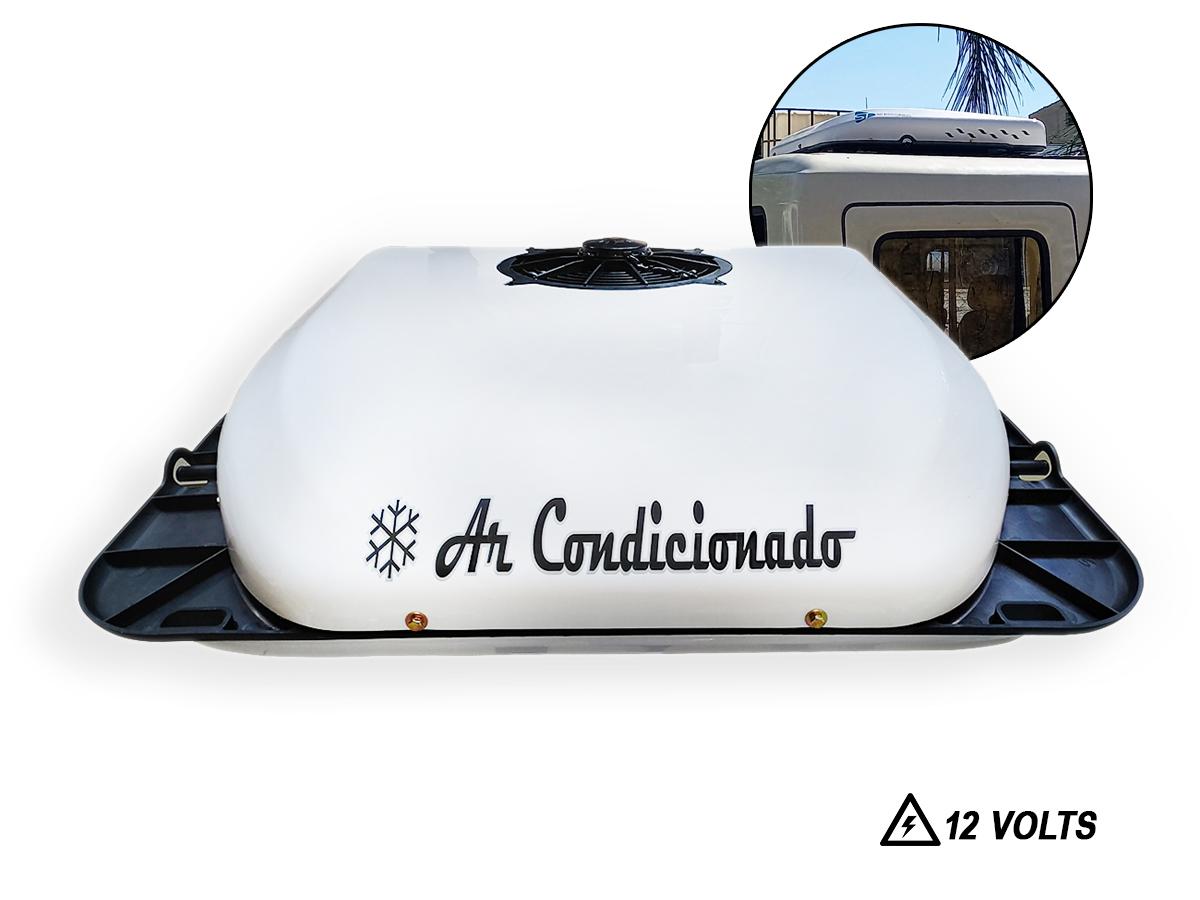 AR CONDICIONADO TETO ELETRICO MOTOR HOME VAN 12V