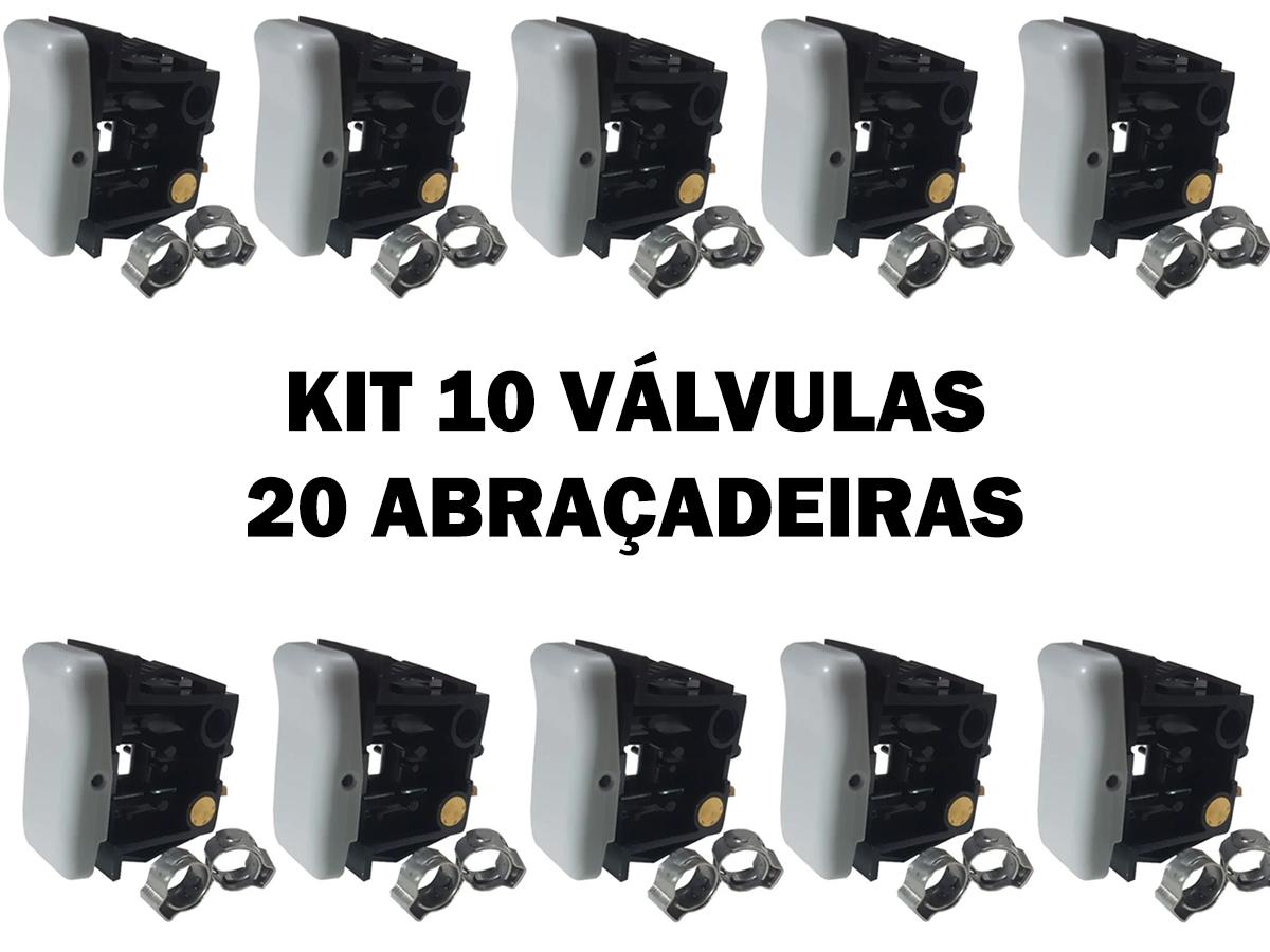 BOTÃO VÁLVULA BANCO AR CAMINHÃO VOLKS FORD CARGO MB AXOR 10