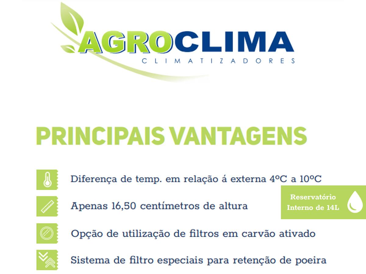 CLIMATIZADOR AGRICOLA TRATOR COLHEITADEIRA RESERV. INTERNO