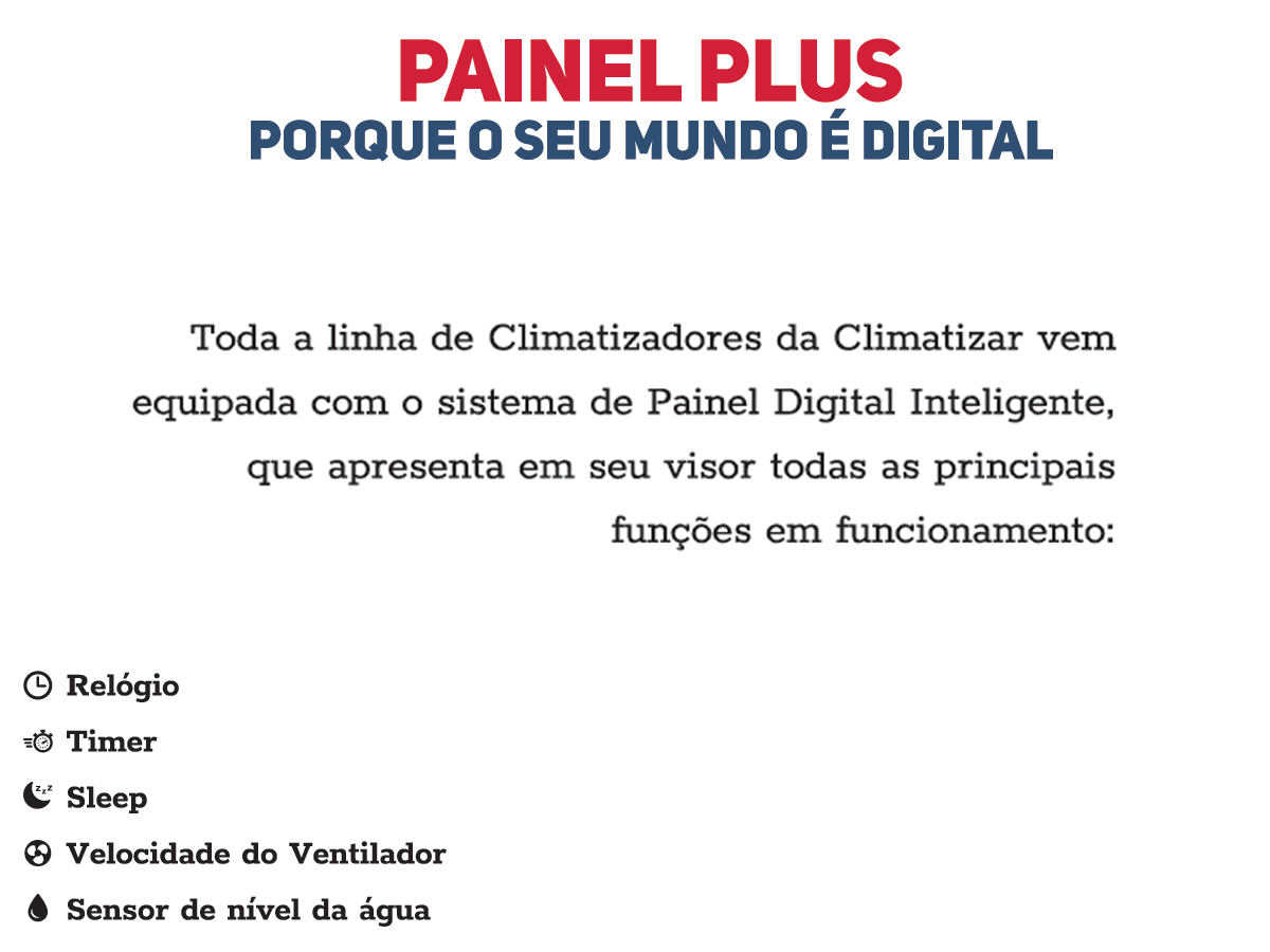 CLIMATIZADOR INTERCLIMA DE AR MB1620/1618/1113/1114/1218 24V