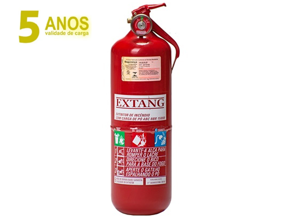 EXTINTOR ABC VAN CAMINHÃO ONIBUS 2 KG EXTANG 954