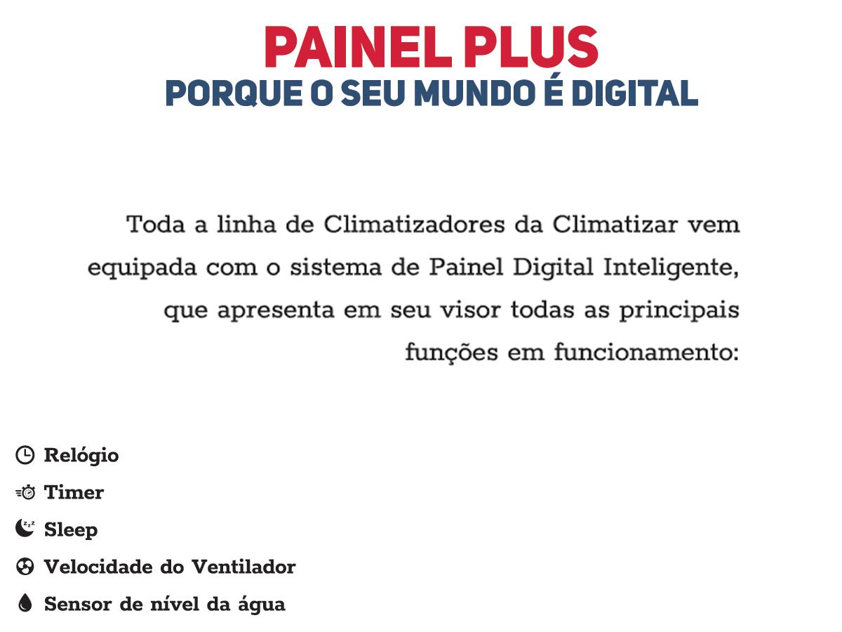 INTERCLIMA PARA CAMINHÃO CLIMATIZAR COM PAINEL DIGITAL 24V