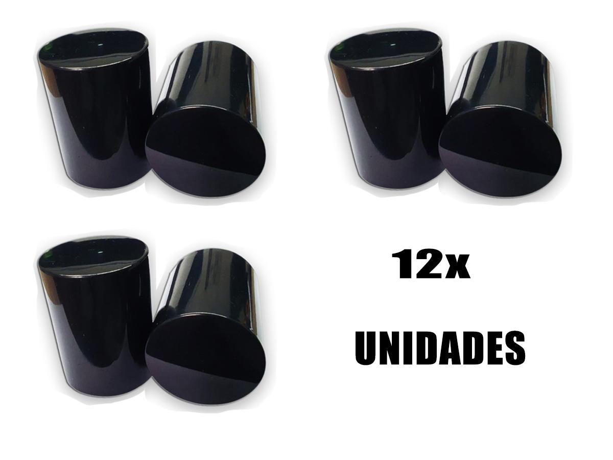 KIT 12 CAPA DE PORCA BOLIVIANA PARA RODA CAMINHÃO 33/32MM
