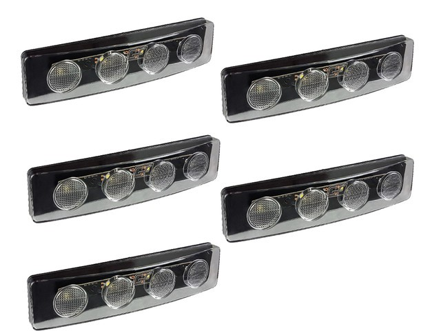 KIT 5 LANTERNA LED TAPA SOL SCANIA SC 124 S4 S5