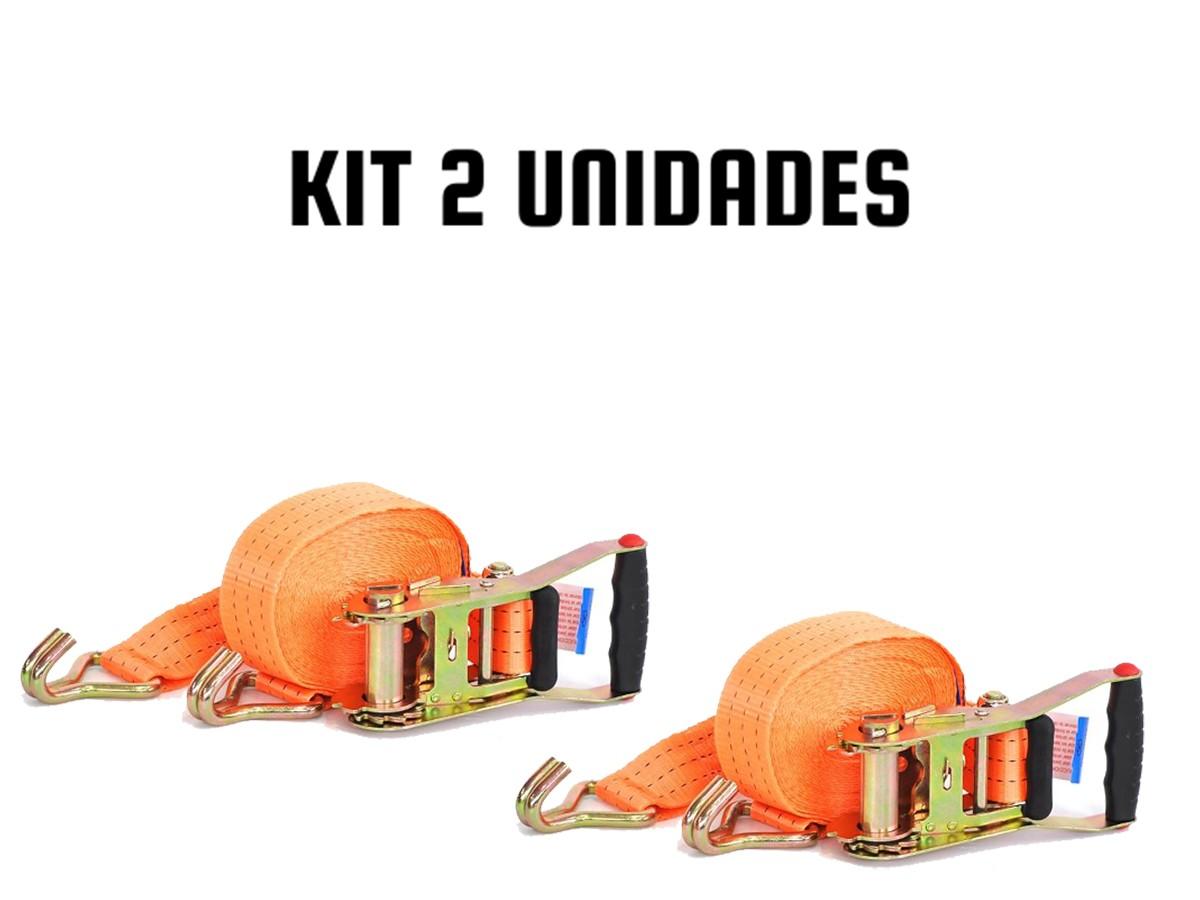 KIT COM 2 CATRACA + 2 CINTA AMARAÇÃO 3 TONELADAS 9 METROS