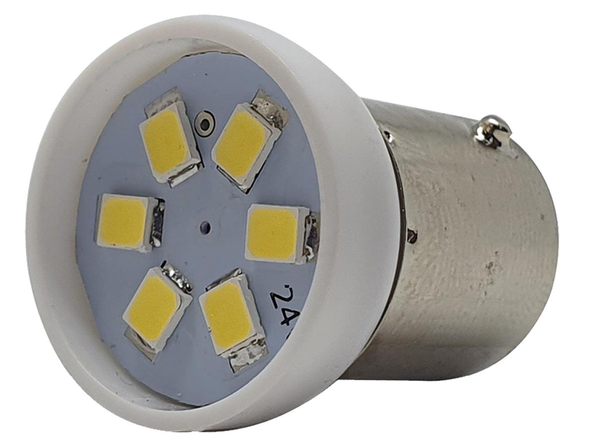 LÂMPADA LED SUPER LED PARA CARRO VÍCULOS 12V 67 BRANCO 12 UN