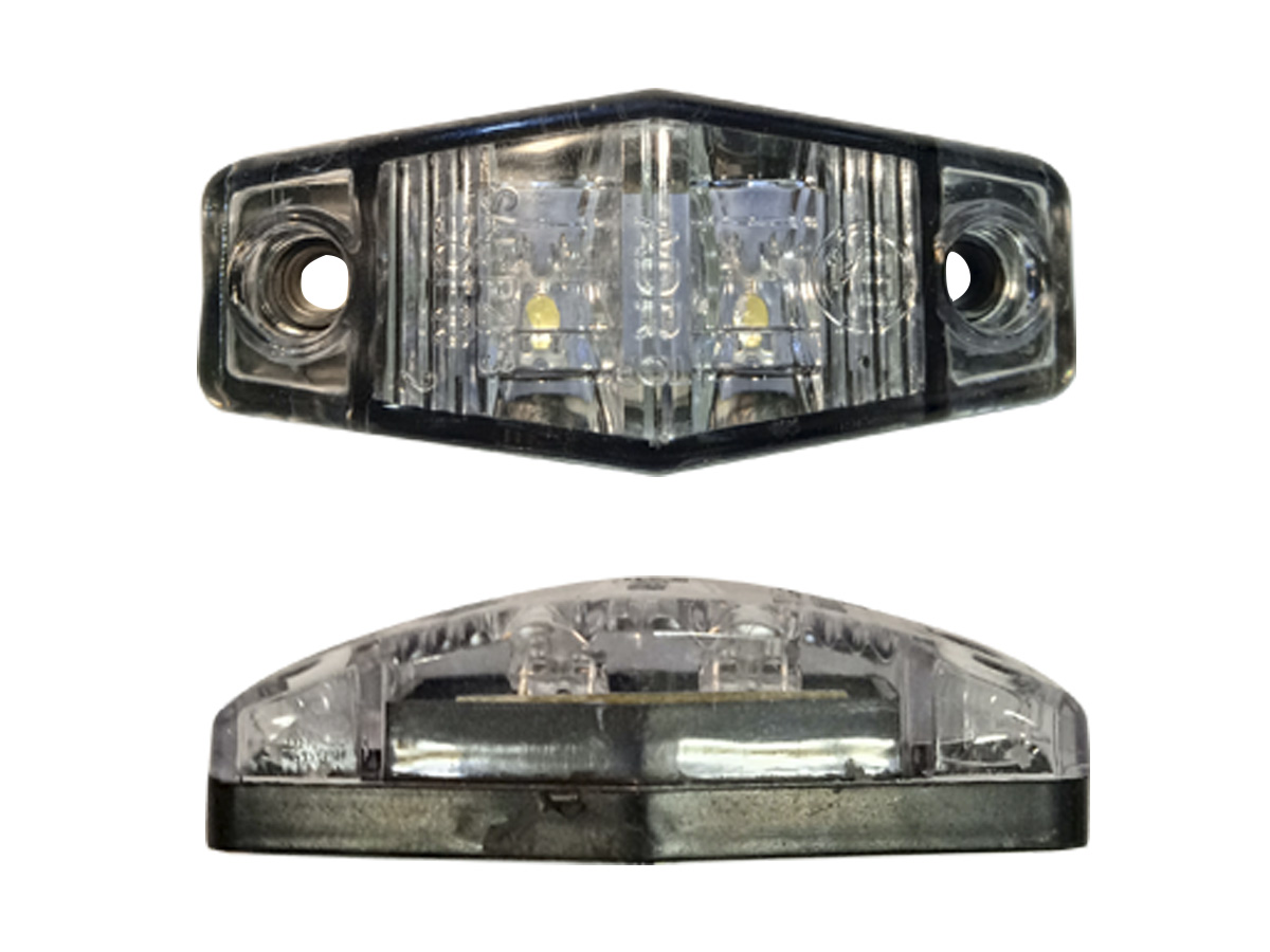 LANTERNA DELIMITADORA OVAL (CRISTAL) LED
