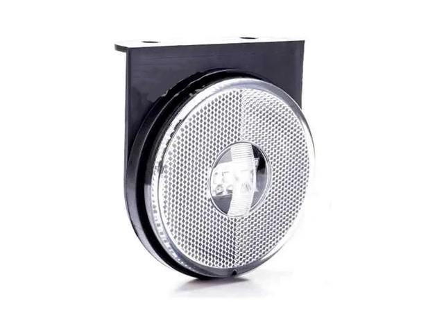 LANTERNA LATERAL CARRETA RANDON TRAILER REBOQUE CRISTAL LED