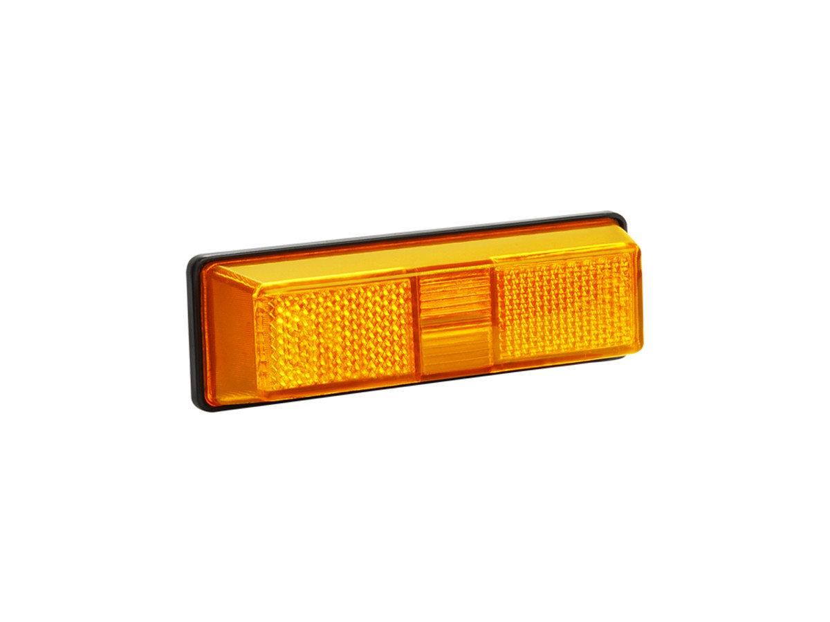 LANTERNA LATERAL DO ESTRIBO FORD CARGO AMARELO