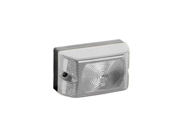 LANTERNA LATERAL LED CAMINHAO BAU CARRETA CRISTAL LED 12/24V