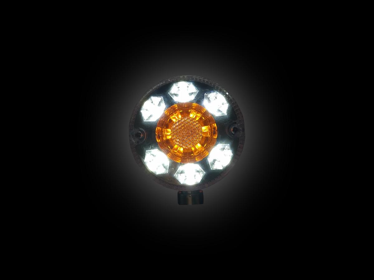 LANTERNA TRASEIRA 3 MARIA MODERNA LED