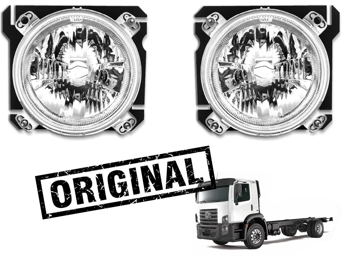 PAR FAROL CAMINHAO VW CONSTELLATION TODOS IAM ORIGINAL