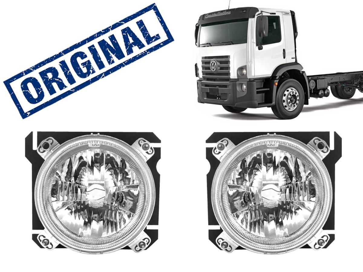 PAR FAROL DIANTEIRO VW CONSTELLATION 24250 13180 15180 2006