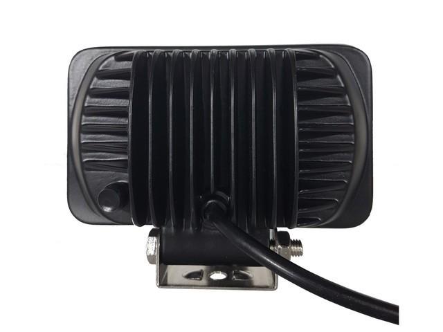 PAR FAROL LED AUXILIAR RETANGULAR 8 LEDS 24W 12/24V