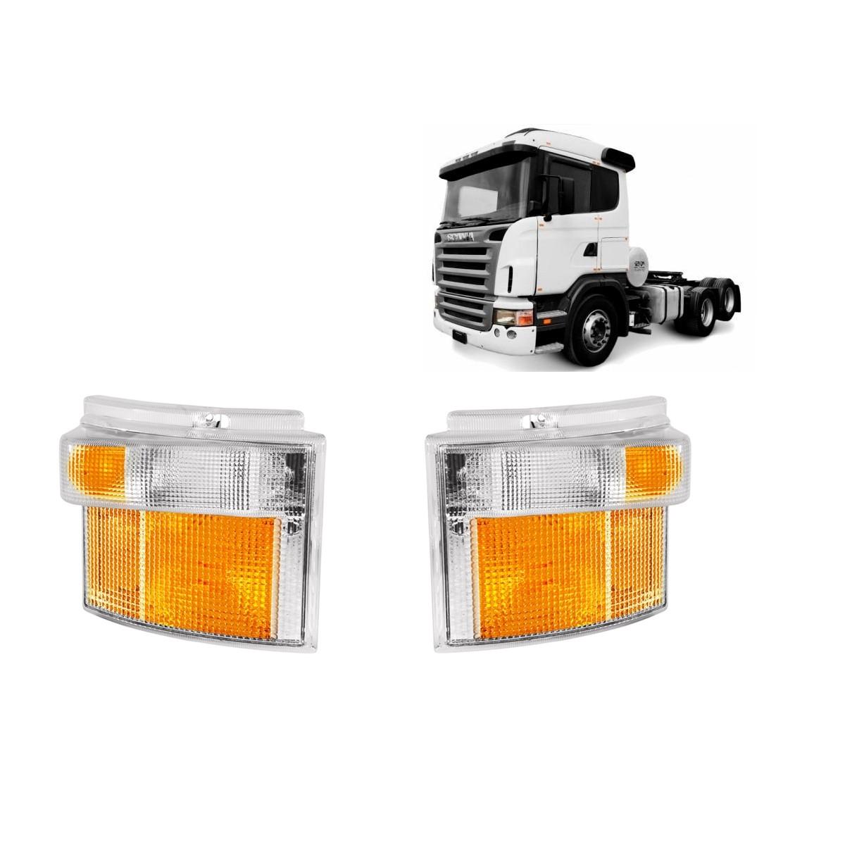 Par Lanterna Dianteira Seta Pisca Scania Sc 114 124 S4 S5