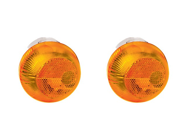PAR Lanterna Lateral Seta Caminhão Vw Constellation amarela
