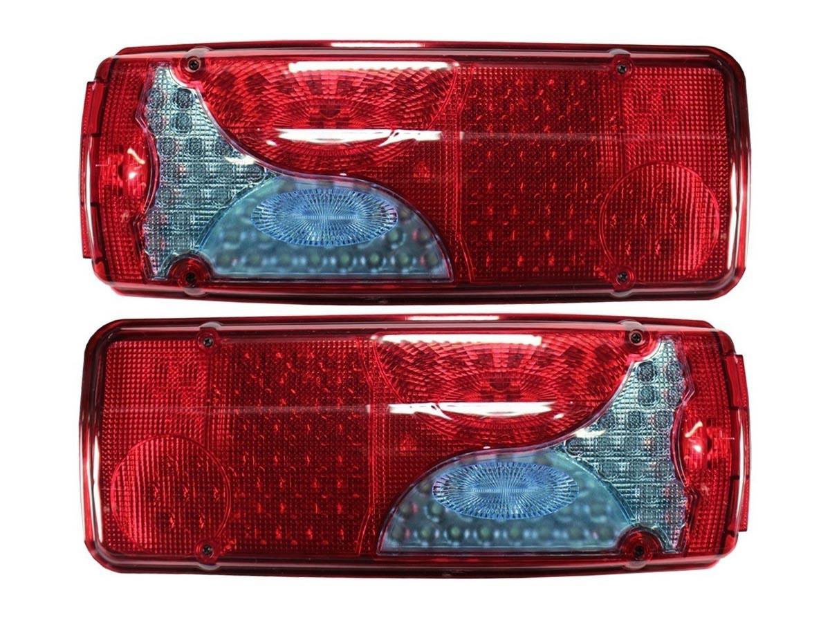 Par Lanterna Traseira LED Scania SC 124 Serie 4 5 Botinha
