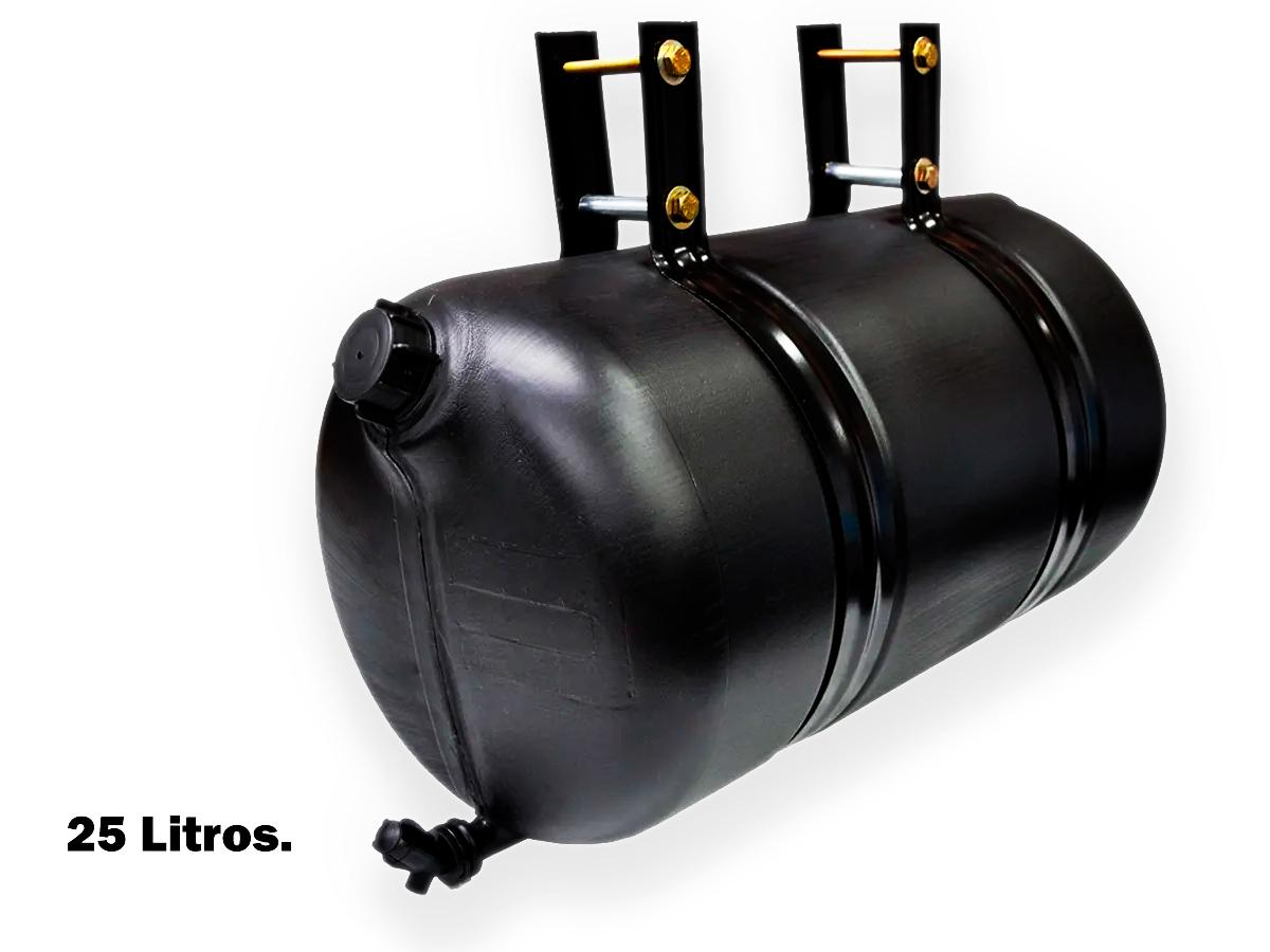 RESERVATORIO Corote DE agua 25 LITROS PLASTICO PRETO