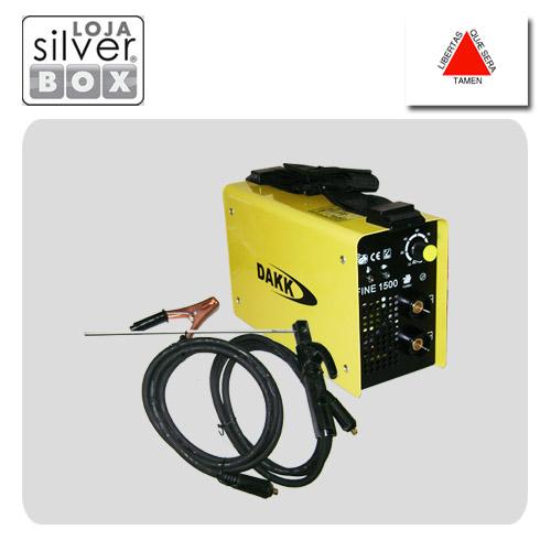Máquina de Solda FINE ARC 1500  - Loja Silver Box