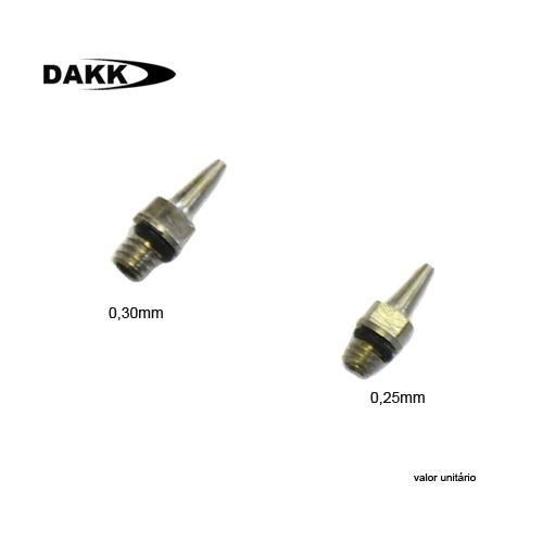 Nozle Para Aerografos Dakk - 0,30mm