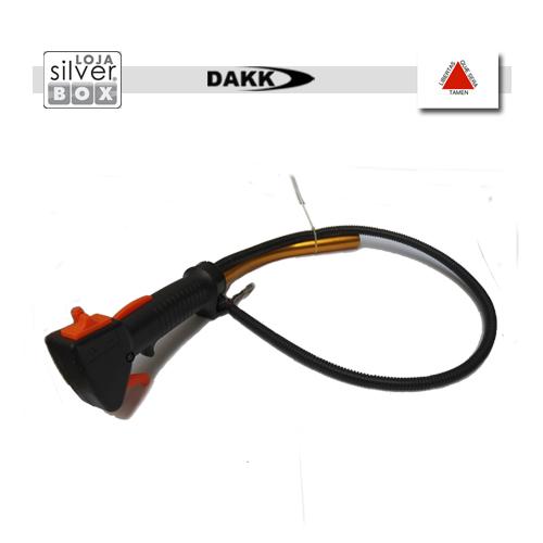 Acelerador completo com cabo para roçadeira DAKK  - Loja Silver Box