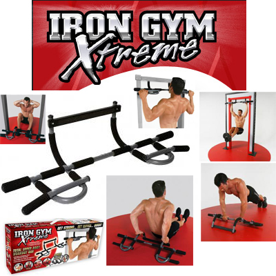 Barra de porta  iron gym extreme