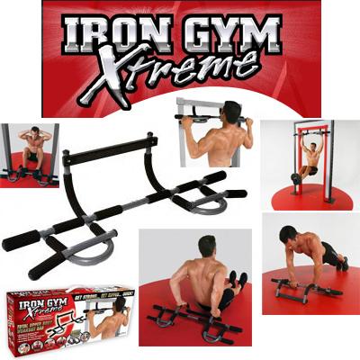 Barra de porta  iron gym extreme