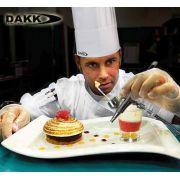 Caneta Aerógrafo e Compressor p/ culinária e confeitaria Dakk Original