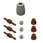 Consumíveis para Plasma DAKK - kit com 10 peças