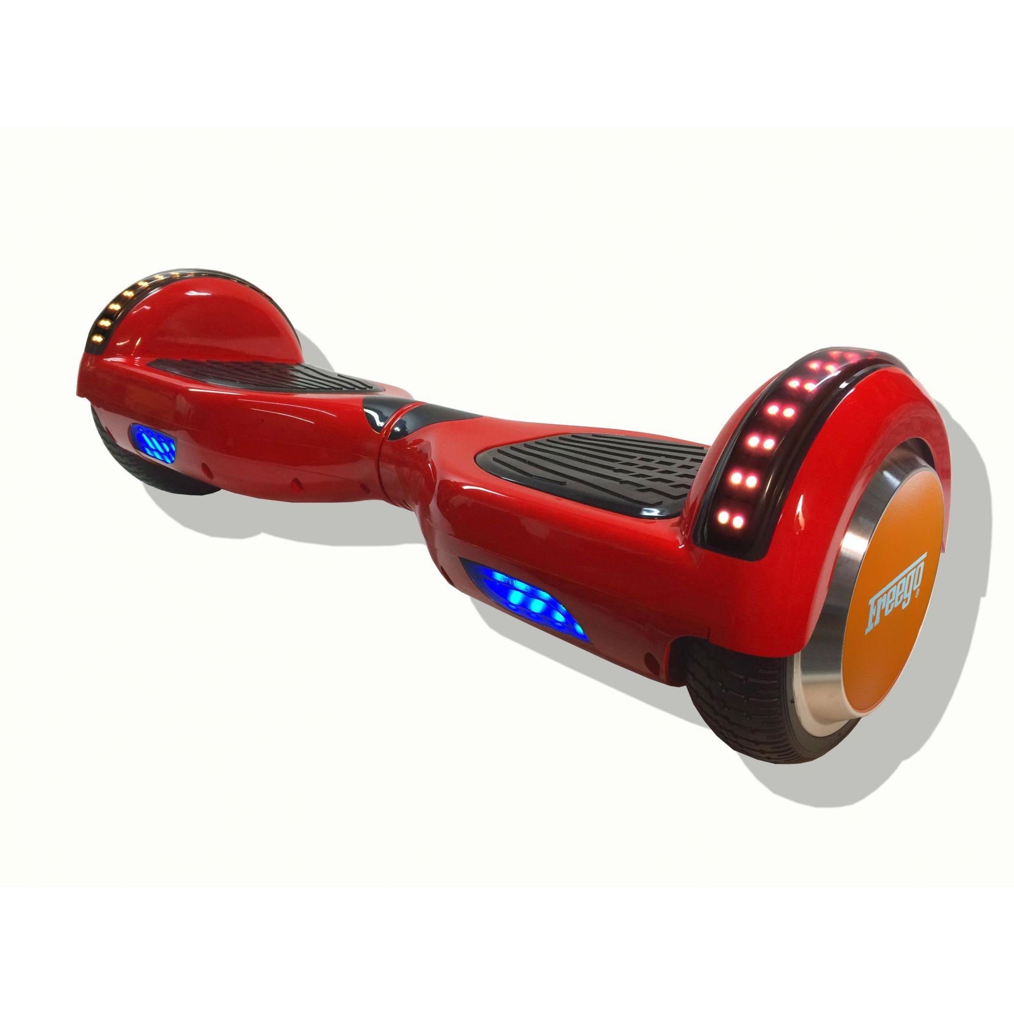 Vermelho FERRARI  - Hoverboard FREEGO -  modelo  2018